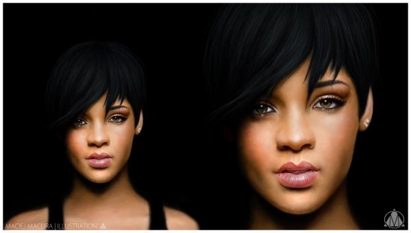 Rihanna par MaciejMacura